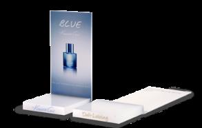 Parfum- und Kosmetikdisplay