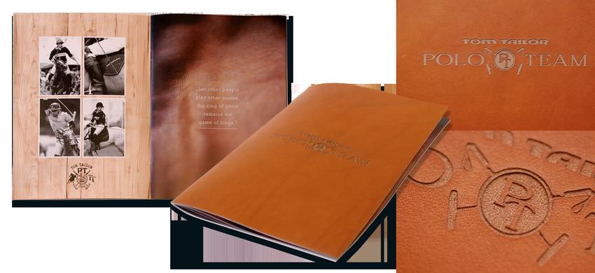 Tom Tailor Lederbuch