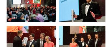 Displaymanufaktur bei den Druck und Medien Awards